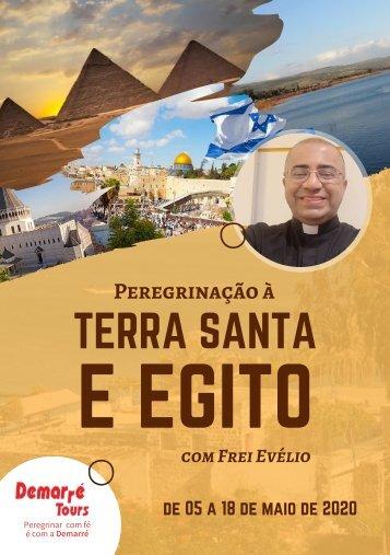 ROTEIRO TERRA SANTA E EGITO