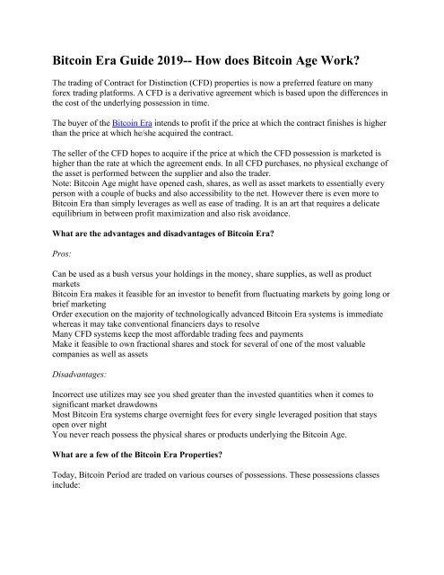 bitcoins era review bitcoin trading academy llc