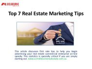 Top 7 Real Estate Marketing Tips