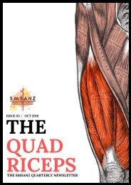 The Quadriceps Issue 3 | Oct 2019