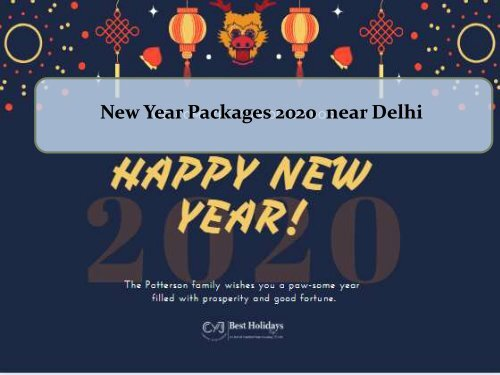 New Year 2020 Sirmour Retreat Resort in Nahan   New Year 2020