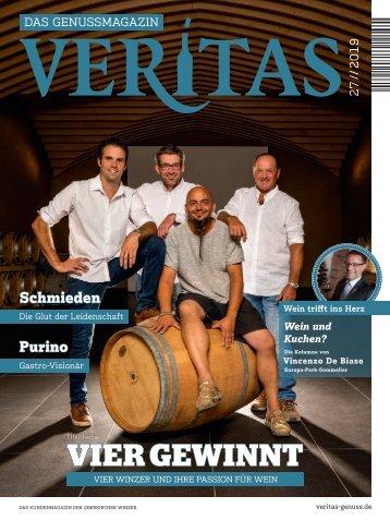 VERITAS - Das Genussmagazin - Ausgabe 27/2019