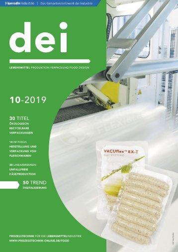 dei – Prozesstechnik für die Lebensmittelindustrie 10.2019