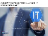 Current Trends of the Managed IT Services Market