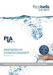 Prüfbericht Standsicherheit PIA PE-Behälter nach EN 12566-3 C.6