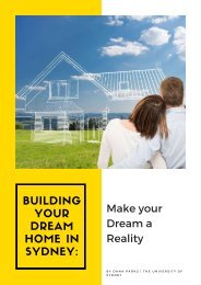 Building your Dream Home in Sydney- Make your Dream a Reality