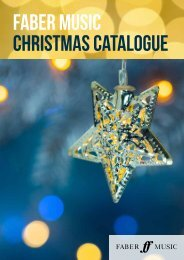 Faber Music Christmas Catalogue 2019