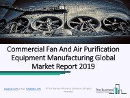 Commercial Fan And Air Purification Equipment Market Strategies and Forecast Worldwide, 2019 to 2022