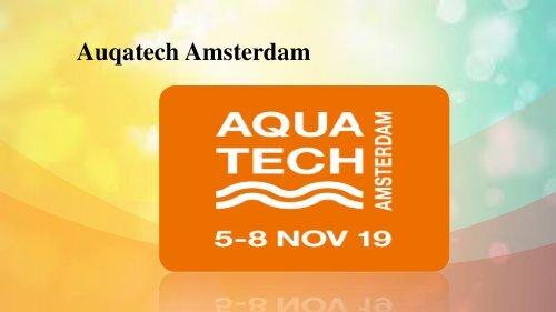 Auqatech Amsterdam