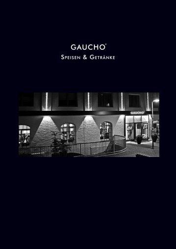 GAUCHO Paderborn - Speisekarte