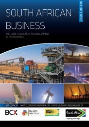 South African Business 2020 edition