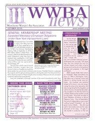 WWBA October 2019 Newsletter - M
