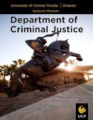 Graduate Criminal Justice Programs