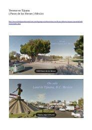 Sale_Land in Tijuana, B.C. Mexico