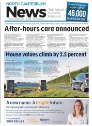 North Canterbury News: October 24, 2019