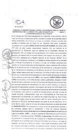 Convenio entre AMSA y la Municipalidad de Villa Nueva  2019