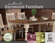 Urban Barnwood Furniture Catalog