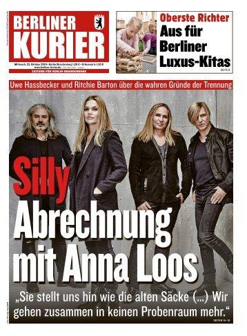 Berliner Kurier 23.10.2019