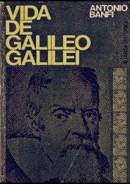 Vida de Galileo Galilei