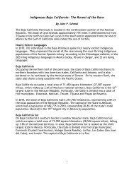 Baja Indigenous History Final