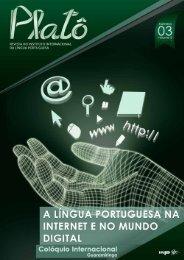 Platô vol. 2, n.º 3 (2013) A Língua Portuguesa na Internet e no Mundo Digital