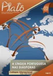 Platô vol. 1, n.º 2 (2012) A Língua Portuguesa nas Diásporas