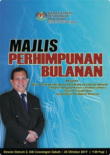Majlis Perhimpunan Bulanan 251019
