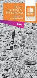 Burg Schwaneck Fortbildungsprogramm 2020