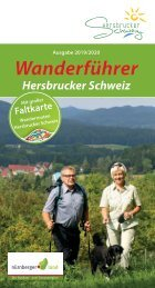 Wanderführer Hersbrucker Schweiz