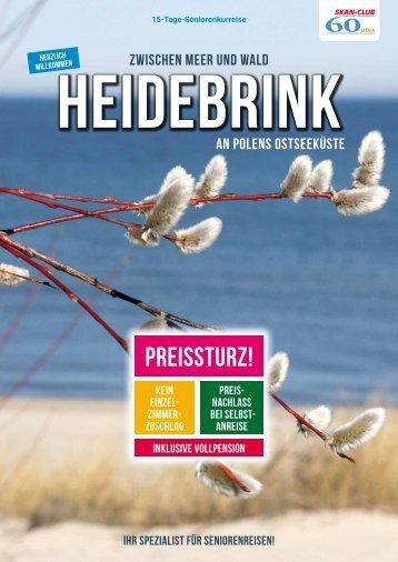 Zwischen Meer und Wald - Heidebrink an Polens Ostseeküste
