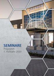 LANDWEHR akademie – Seminarprogramm 1. Halbjahr 2020
