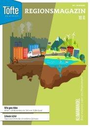 Töfte Regionsmagazin 10/2019 - Der Klimawandel