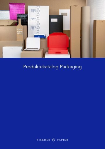 Produktekatalog Packaging