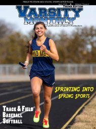April 2019 Issue of Varsity Monthly Thumb Magazine