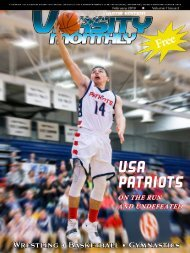 February 2019 Issue of Varsity Monthly Thumb Magazine
