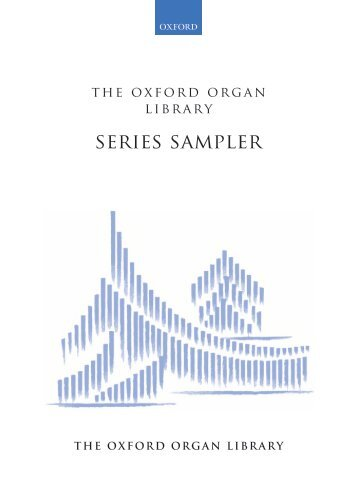 The Oxford Organ Library Sampler