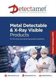Detectamet Detectable Products Catalogue