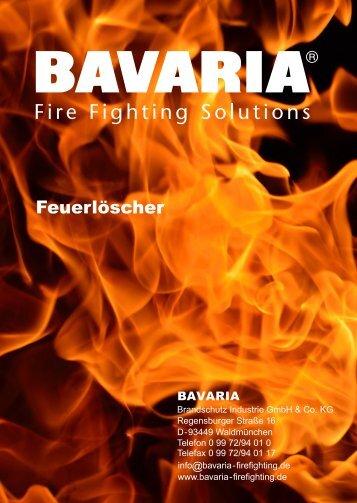 BAVARIA Gesamtkatalog Feuerlöscher 10.2019