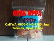 Call/WA, 0856-0140-1285, Jual, Terenak, Opak, Oppa