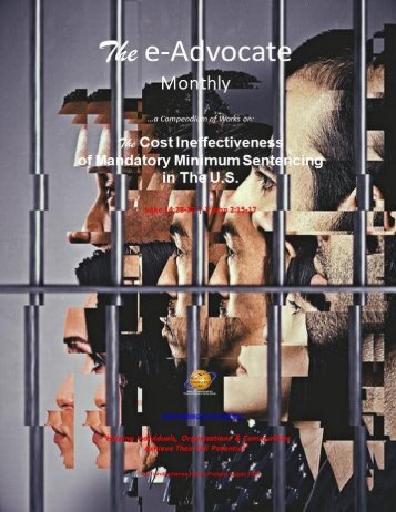 The Cost Ineffectiveness of Mandatory Minimum Sentencing In The U.S.