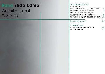Rana Ehab Kamel Portfolio