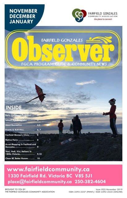 Fairfield Gonzales Observer November 2019