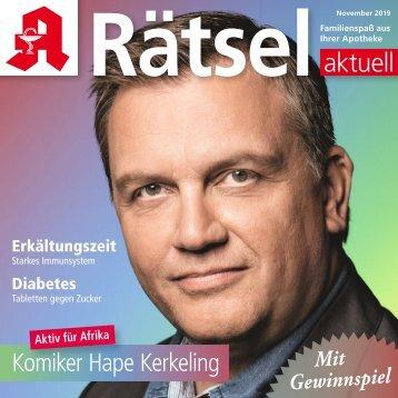 "Leseprobe ""Rätsel-aktuell"" November 2019"