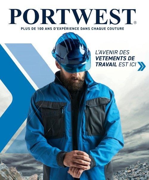 Portwest T501 Hi Vis PW3 antitache Léger Sécurité étui Travail Pantalon