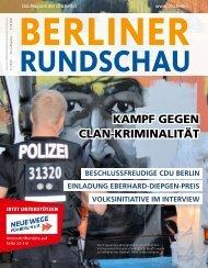 Berliner Rundschau digital I Ausgabe 5/2019