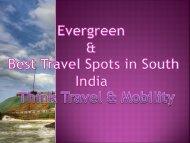 Best Travels Spots in chennai