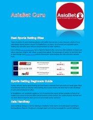 Trusted Sports Betting Sites - AsiaBetGuru