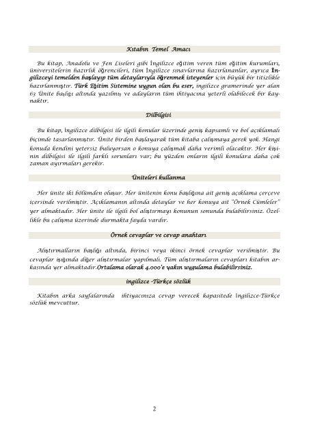 Ingilizce Gramer Kitabi Pdf Indir Turkce Aciklamali 12539 1