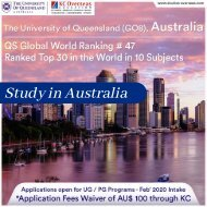 Study at The University of Queensland, Australia