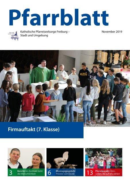 2019-11 Pfarrblatt Freiburg